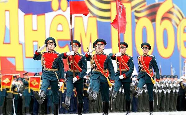 Парад Победы в Москве 2017: репетиция