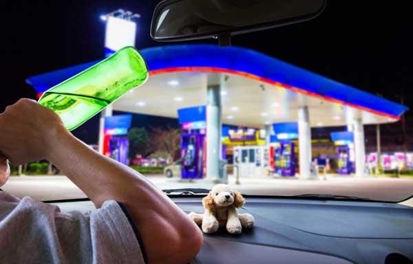 Минфин разрешит продавать алкоголь на АЗС